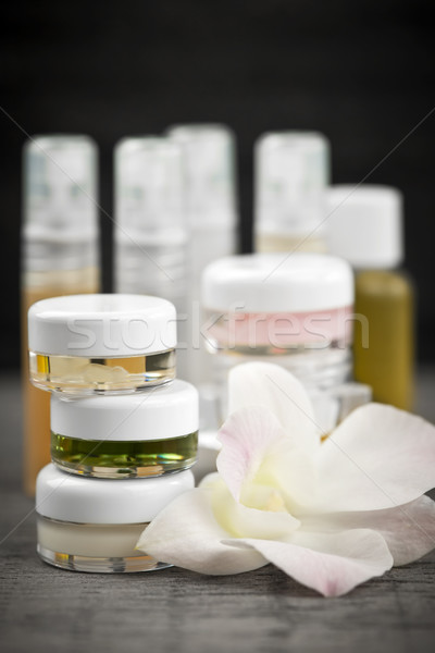 Skin care products Stock photo © elenaphoto
