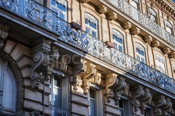 Toulouse facade Stock photo © elenaphoto