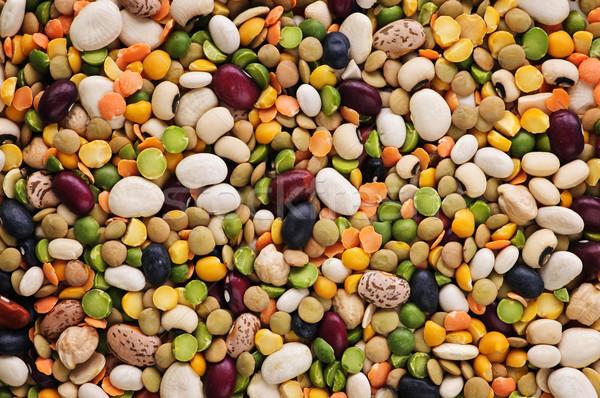 Dry beans and peas Stock photo © elenaphoto