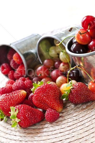 Fruits and berries Stock photo © elenaphoto