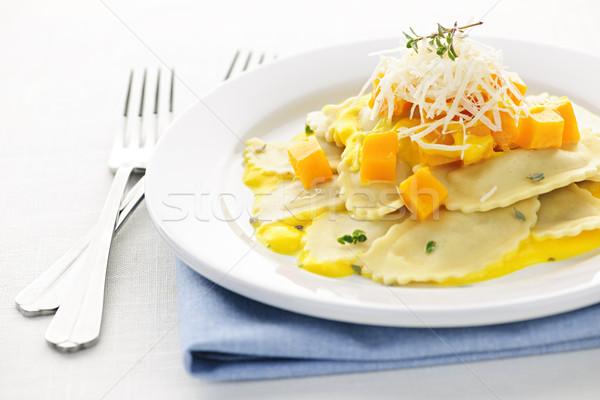 Ravioli dinner Stock photo © elenaphoto