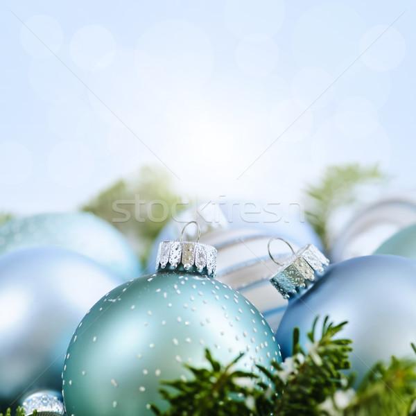 Christmas ornaments Stock photo © elenaphoto