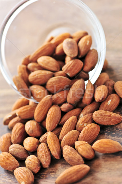 Almonds Stock photo © elenaphoto
