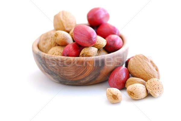 Assorted nuts Stock photo © elenaphoto