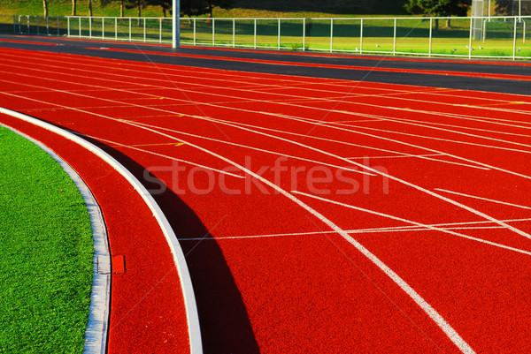 Racetrack Stock photo © elenaphoto
