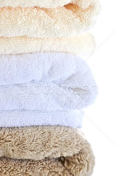 Stack of towels Stock photo © elenaphoto