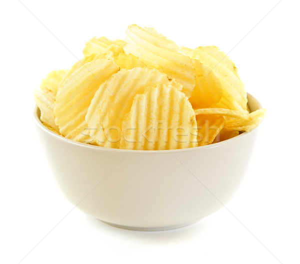 Potato chips Stock photo © elenaphoto