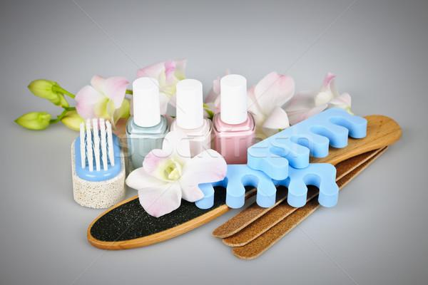 Pedicure accessories and tools Stock photo © elenaphoto