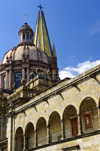 Guadalajara Cathedral in Jalisco, Mexico Stock photo © elenaphoto