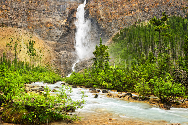 ストックフォト: 滝 · 公園 · カナダ · 英国の · 水 · 風景
