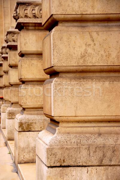 Columns Stock photo © elenaphoto