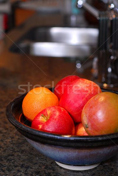 Kitchen interior Stock photo © elenaphoto