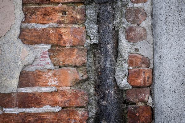 Old brick wall abstract Stock photo © elenaphoto