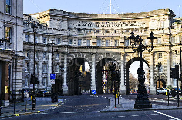 Admiralty Arch in Westminster London Stock photo © elenaphoto