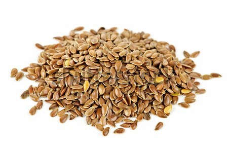 Brown flax seed Stock photo © elenaphoto