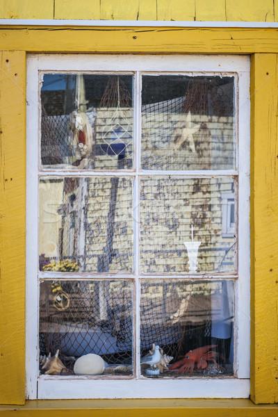 сувенир магазине окна деревне север Остров Принца Эдуарда Сток-фото © elenaphoto