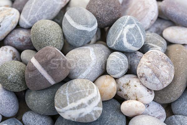 Tengerpart kavicsok kövek különböző színek formák Stock fotó © elenaphoto