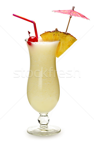 Pina colada cocktail Stock photo © elenaphoto
