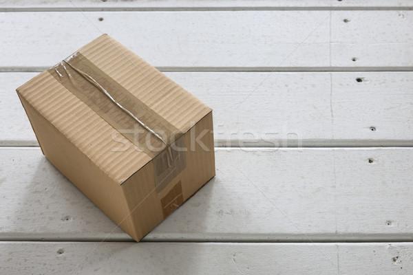 Delivery box Stock photo © elenaphoto