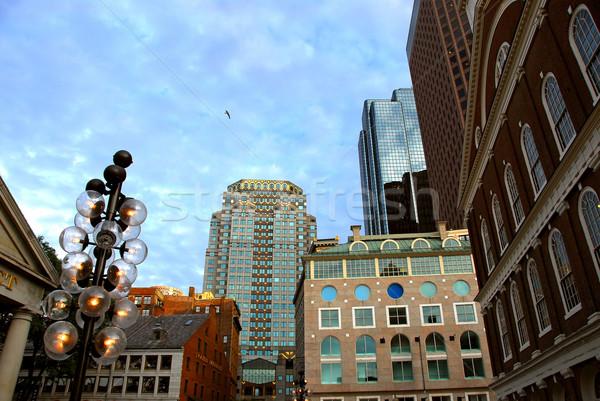 Stock photo: Boston downtown