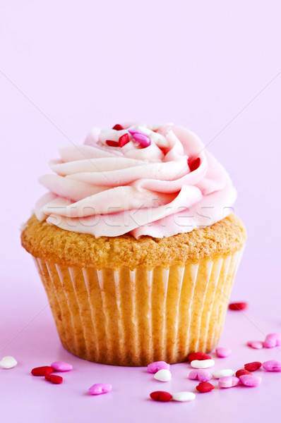 Cupcake Stock photo © elenaphoto