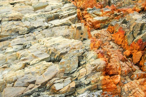 Rock texture Stock photo © elenaphoto