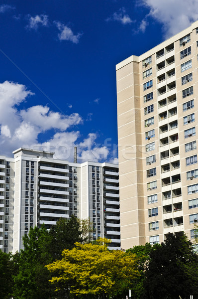 Stock photo: Apartment buildings