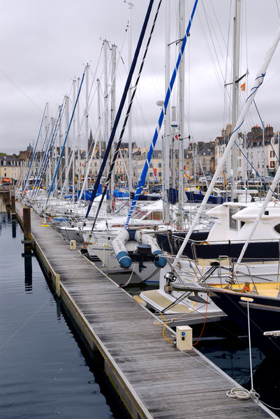 Harbor in Vannes, France Stock photo © elenaphoto
