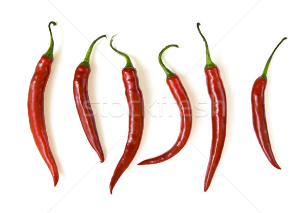 Red hot chili peppers Stock photo © elenaphoto