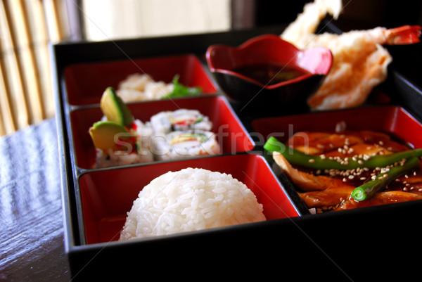 Japanese food Stock photo © elenaphoto