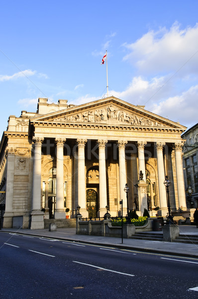 Stock photo: Royal Exchange building in London