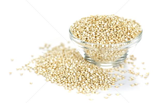 Quinoa grain in bowl Stock photo © elenaphoto