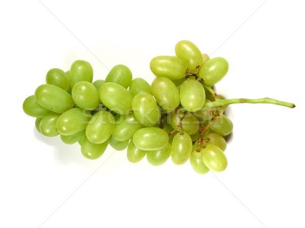 Green grapes bunch Stock photo © elenaphoto