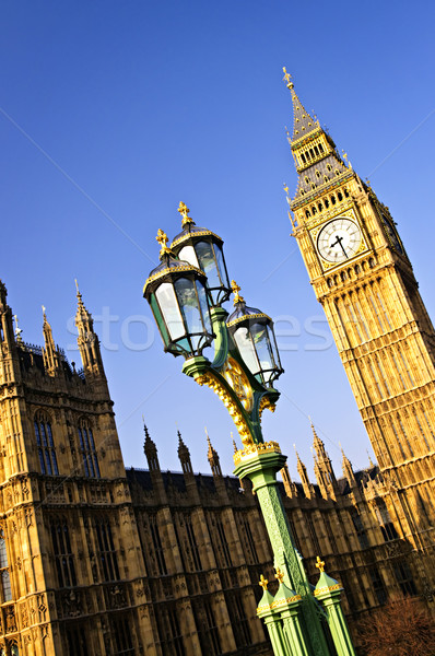 Big Ben and Palace of Westminster Stock photo © elenaphoto
