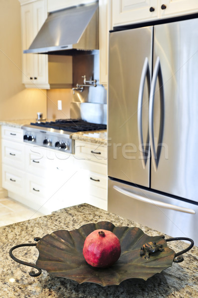 Kitchen interior Stock photo © elenaphoto
