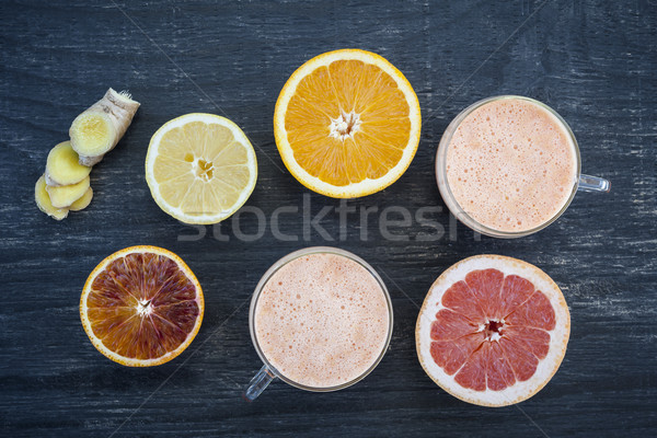 Citrus smoothies Stock photo © elenaphoto