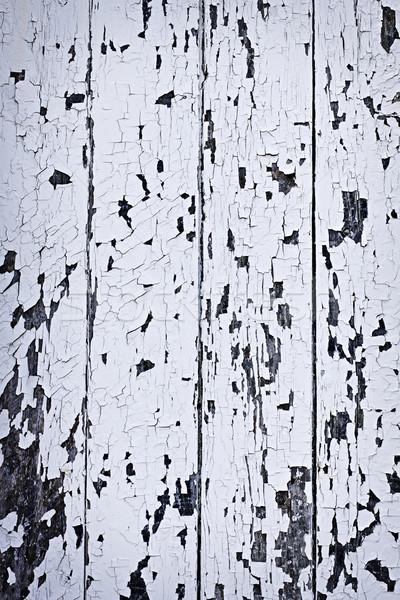 Old painted wood background Stock photo © elenaphoto