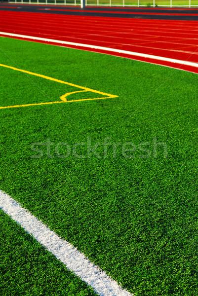 Track and field Stock photo © elenaphoto