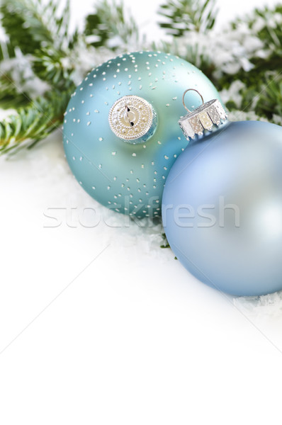 Christmas ornaments Stock photo © elenaphoto