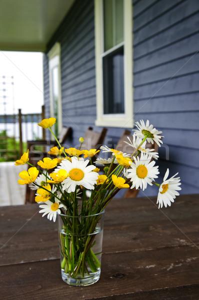 花束 コテージ 素朴な 表 国 ストックフォト © elenaphoto