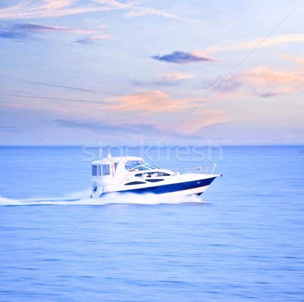 Speedboat Stock photo © elenaphoto
