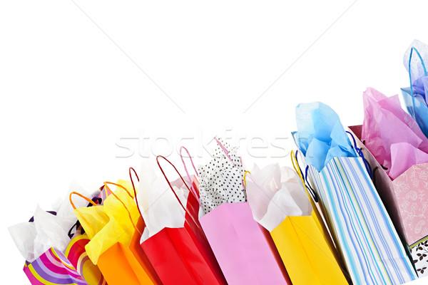 Shopping bags Stock photo © elenaphoto