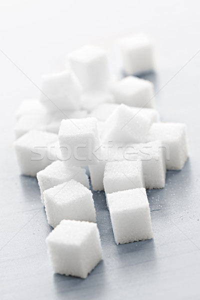 Sugar cubes Stock photo © elenaphoto