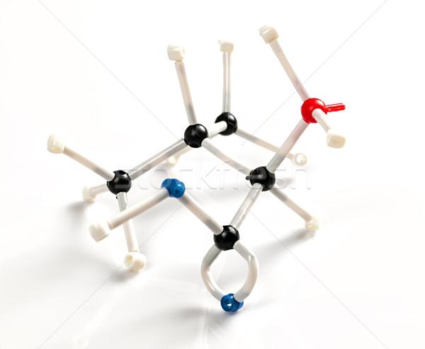молекулярный модель кислота структуры здании Сток-фото © elenaphoto