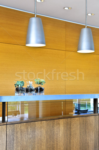 Modern interior Stock photo © elenaphoto