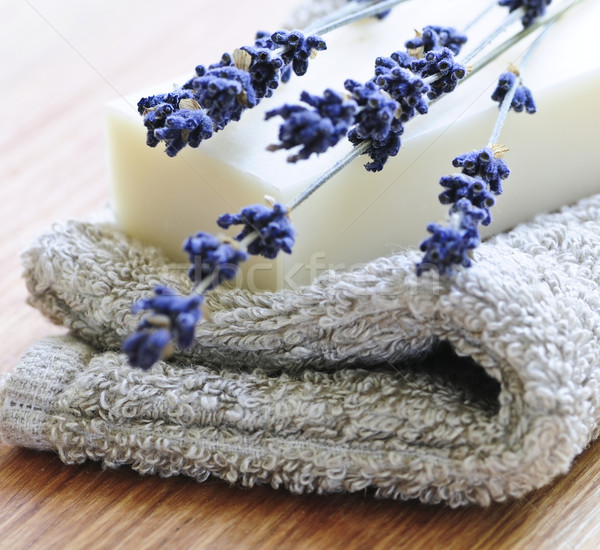 Lavender soap Stock photo © elenaphoto