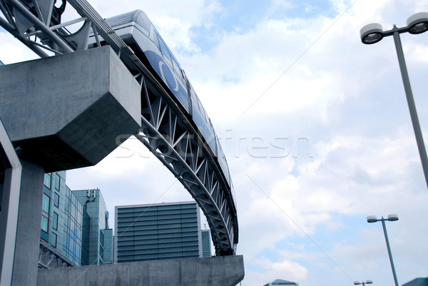 Monorail Stock photo © elenaphoto