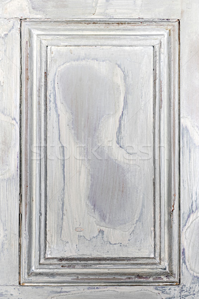 Old painted wood background with frame Stock photo © elenaphoto