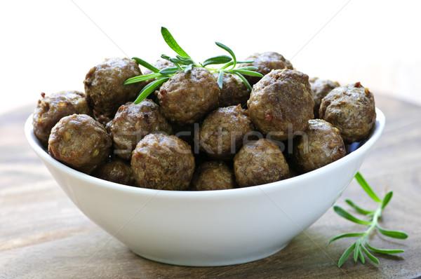 Meatballs Stock photo © elenaphoto