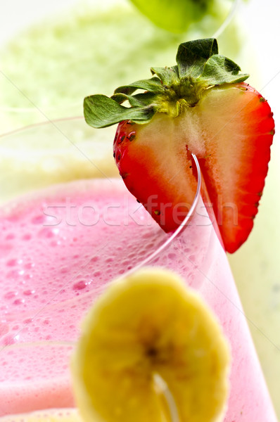 Fruits Berry verre santé verres Photo stock © elenaphoto